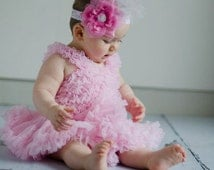 Baby girls Pink premium fluffy pettiskirt tutu
