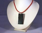 Carbon Fibre Pendant Necklace