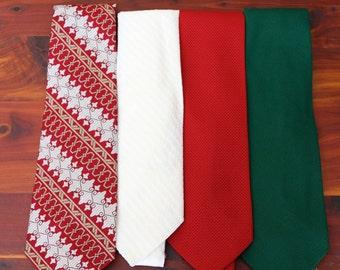 Vintage Neckties - Set of 4