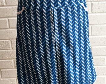Vintage 1970's mod Skirt.UK size 6-8