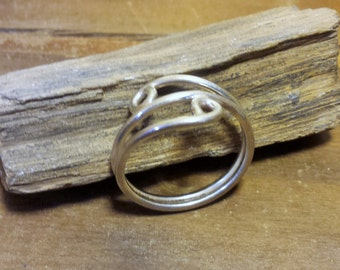 Sterling Silver Round Accent Ring