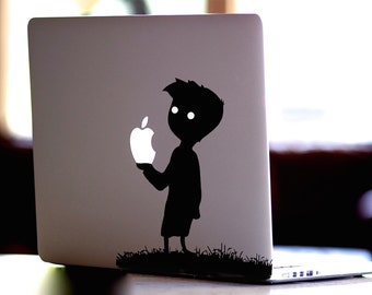 Limbo,Limbo Boy Decal,Sticker,Skin,MacBook Pro, Macbook Air,Apple,Gift,Xbox,Nintendo,Playstation,Geekery,Video game,for him,for her