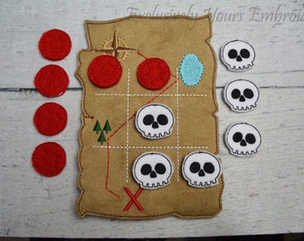 Pirate Tic Tac Toe Game