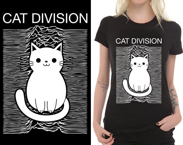 Joy Division Cat Shirt Cat Division T-shirt Joy
