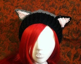 Mix Match Custom Cat Ear Slouch Beanie