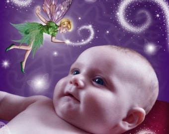 Conversing with the fairies digital art