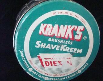 "Krank's brushless shaving ""kreem"" jar"
