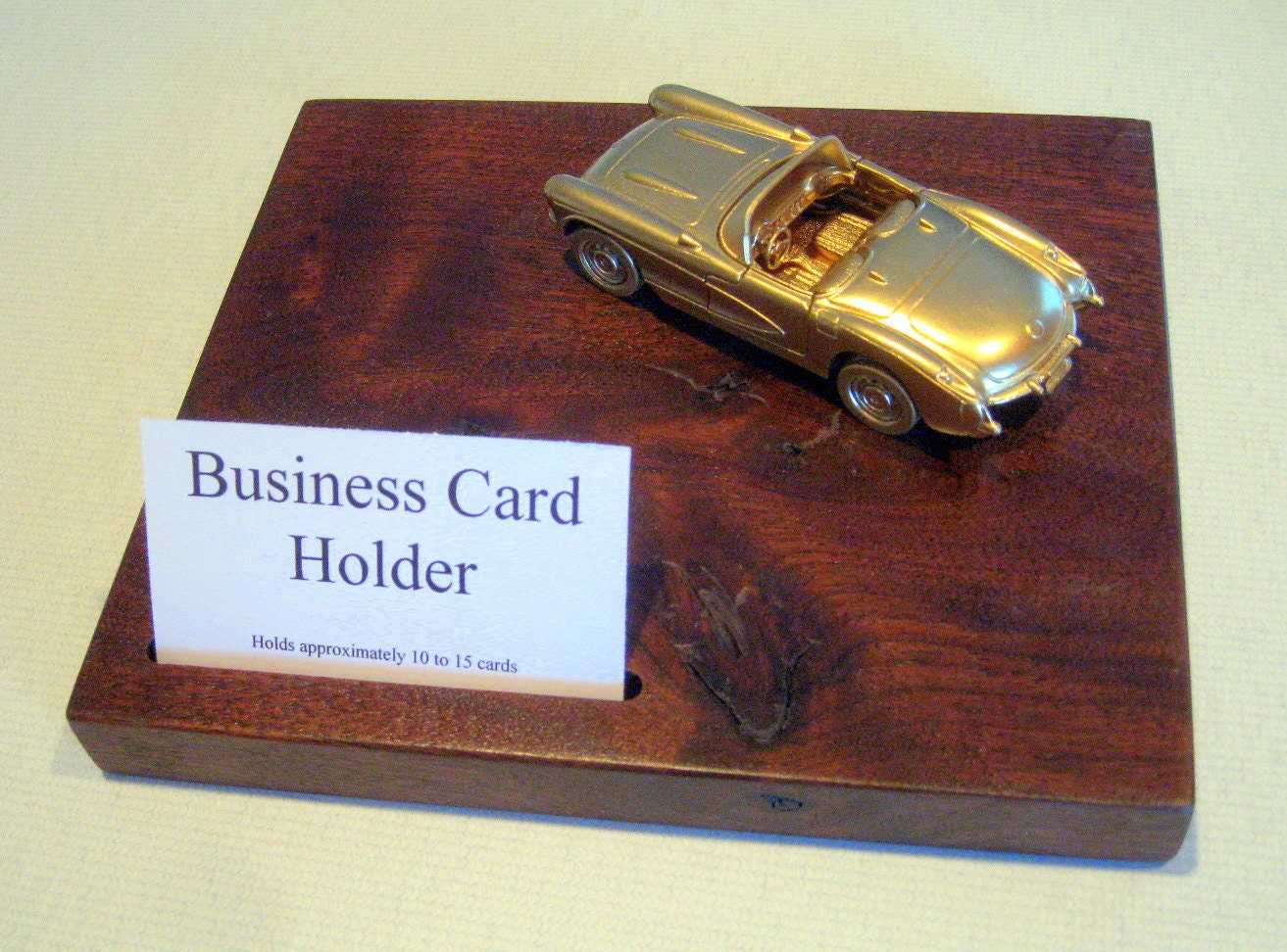 Kitchen dining for Corvette business card holder