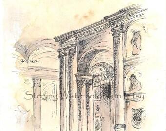 Palladio's Church of San Giorgio Maggiore in Venice, Italy