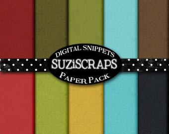 Digital Scrapbooking Christmas Kraft Paper, 8.5 x 11, Digital Paper, DIY, Digital Files, Instant Download
