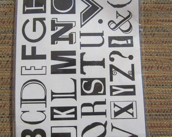 alphabet ransom note