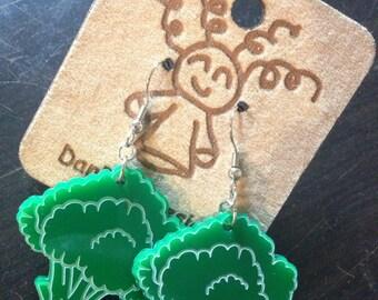 Delicious Broccoli Earrings