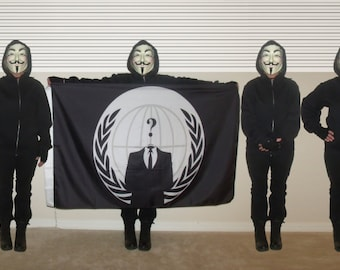 Anonymous Flag (3'x5')