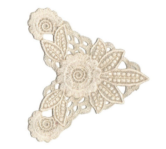 Items similar to vintage lace machine embroidery design on