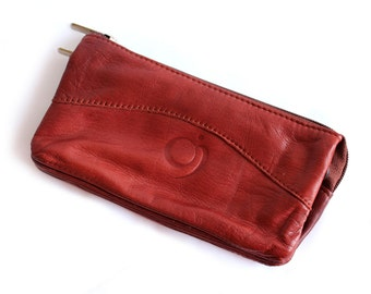 Leather wallett in different colours