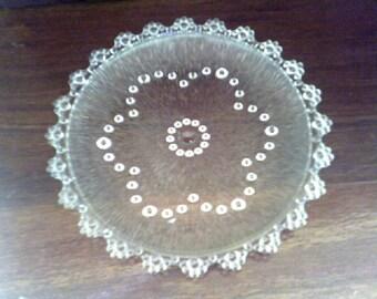 Aderia Glass Cake Plate / Platter