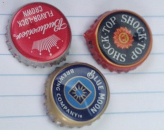 Lot of 50 Beer Bottle Caps- Mixed Lot (DENTS)