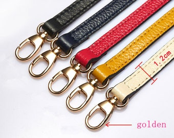 Leather Purse DIY Aluminum Adjustable Chain,metal Cross Body Strap Golden Clasp Clutch Bag Chain,Handle Handbag shoulder Replacement Chain