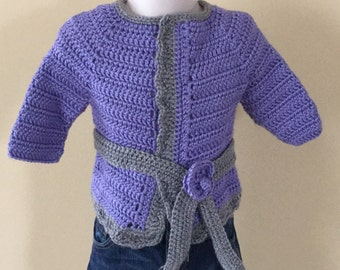 Lilac sweater 12-18 months