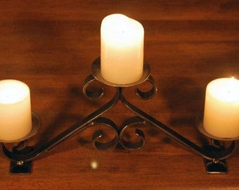 Ornamental Wrought Iron Candle Holder