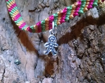 Ginger: Collectible fairy friendship bracelet with charm