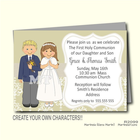 First Communion Invitation Wording is perfect invitation layout