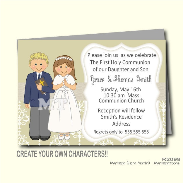 First Communion Invitations For Boys for beautiful invitation layout