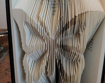 Butterfly book folding pattern