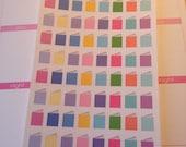 64 Mini Book Stickers (Perfect for Erin Condren Life Planner)