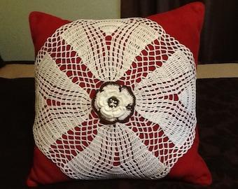Decorative doily  for cushion pillows