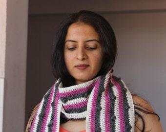 Crochet scarf, neck warmer, neck wrap