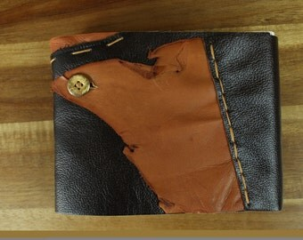 Handmade Leather Sketch Book, Journal, Watercolor Field Book