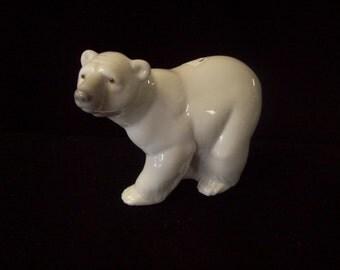 Lladro Polar Bear Figure