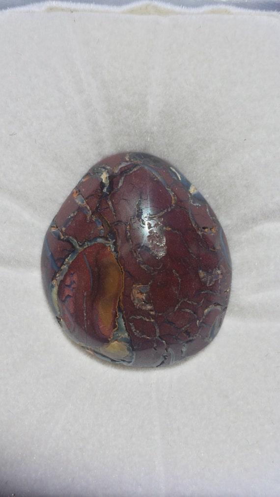 boulder opal gemstone by ownanopal on etsy