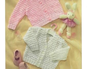 cardigans dk knitting pattern 99p