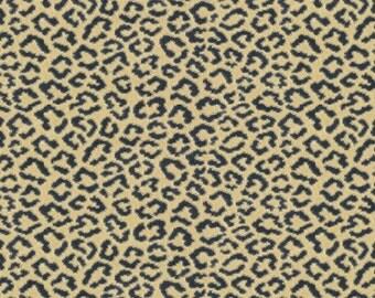 BRUNSCHWIG & FILS PANTHERE Panther Velvet Fabric 10 Yards Blue