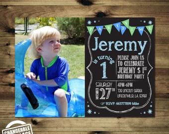 Boy 1st Birthday Invitation Bday_inv_014