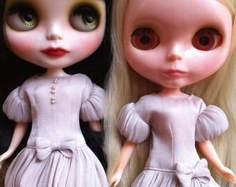 "Dress patterns and instructions 'Ballon Dress"" (for Blythe)"