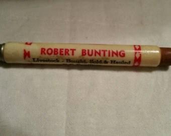 Advertising  Bunting Farm Feed Advertising Pencil