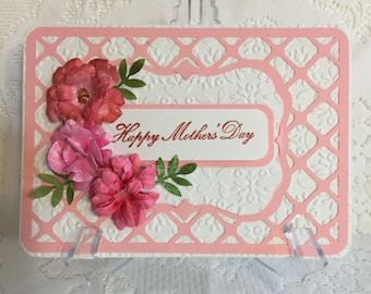 Mother's Day greeting card, Elegant