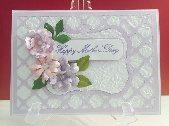 Elegant mother 39 s day greeting card for Classy mothers day cards