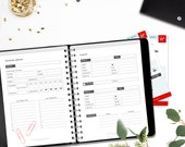 Printable Travel Planner and Journal • A5/Half letter • Minimalistic & Stylish