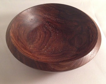 Hand-turned Small Walnut Bowl, #1508