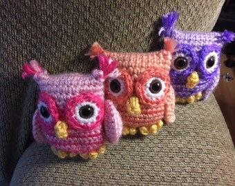 Stuffed Owls