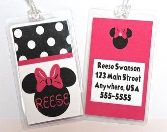 Disney Custom Luggage Tags
