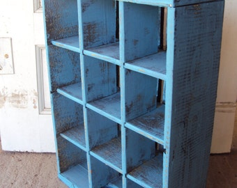 Vintage Painted And Distressed Pepsi Crate