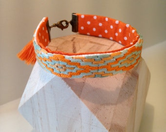 "Small cuff ""Little Inca"""