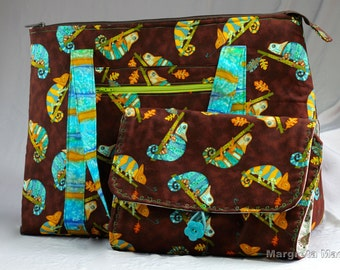 Custom Made - Take off (Travel) Tote - for Baby and Me