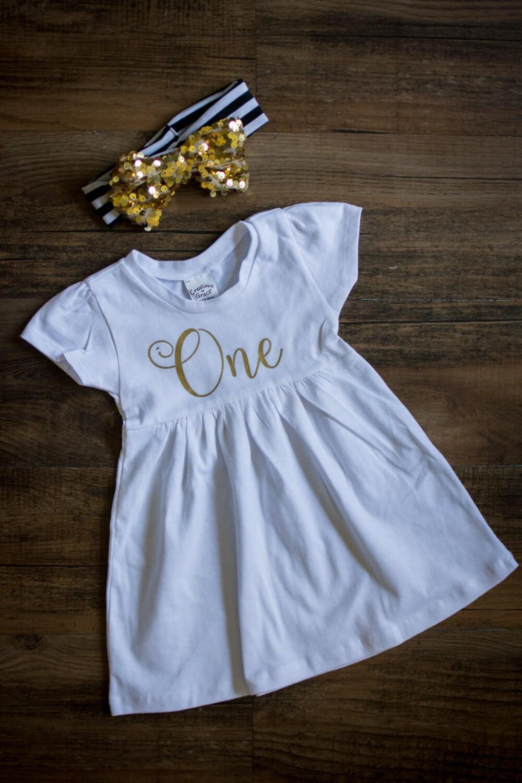 First Birthday Shirt Girls first birthday dress by ...