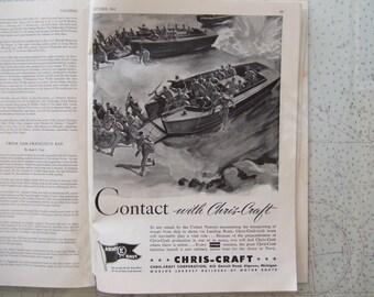 Yachting Magazine ~ October, 1942